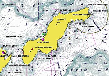 Cartographie Garmin Navionics G3/G3Vision